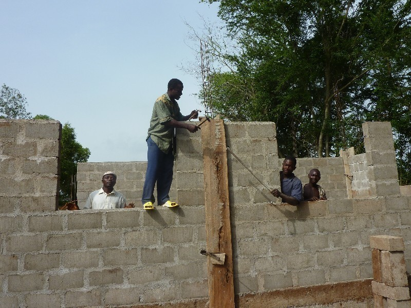 aule in costruzione