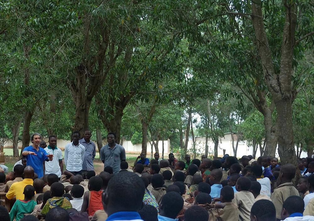 discorso agli studenti del Villaggio